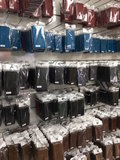 EkvaCase Echte Lederen Bookcase Samsung Galaxy A20e Hoesje - Zwart_