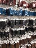 EkvaCase Echte Lederen Bookcase Samsung Galaxy A20e Hoesje - Rood_