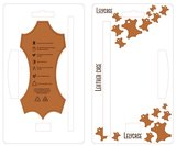 Lelycase Echt Lederen Booktype iPhone 12 Pro Max hoesje - Bruin_