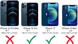 Lelycase - uitneembare bookcase iPhone 12 (Pro) hoesje 2in1 RFID - iPhone 12 (Pro) echt leer afneembaar 2-in-1 telefoonhoesje - Blauw_