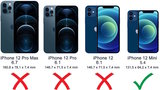 Lelycase - uitneembare bookcase iPhone 12 Mini hoesje 2in1 RFID - iPhone 12 Mini echt leer afneembaar 2-in-1 telefoonhoesje - Blauw_