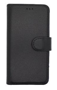 Lelycase Echt Lederen Booktype iPhone 7 / 8 hoesje - Zwart